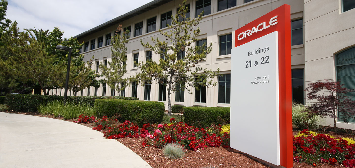 Oracle Site Marker Signage