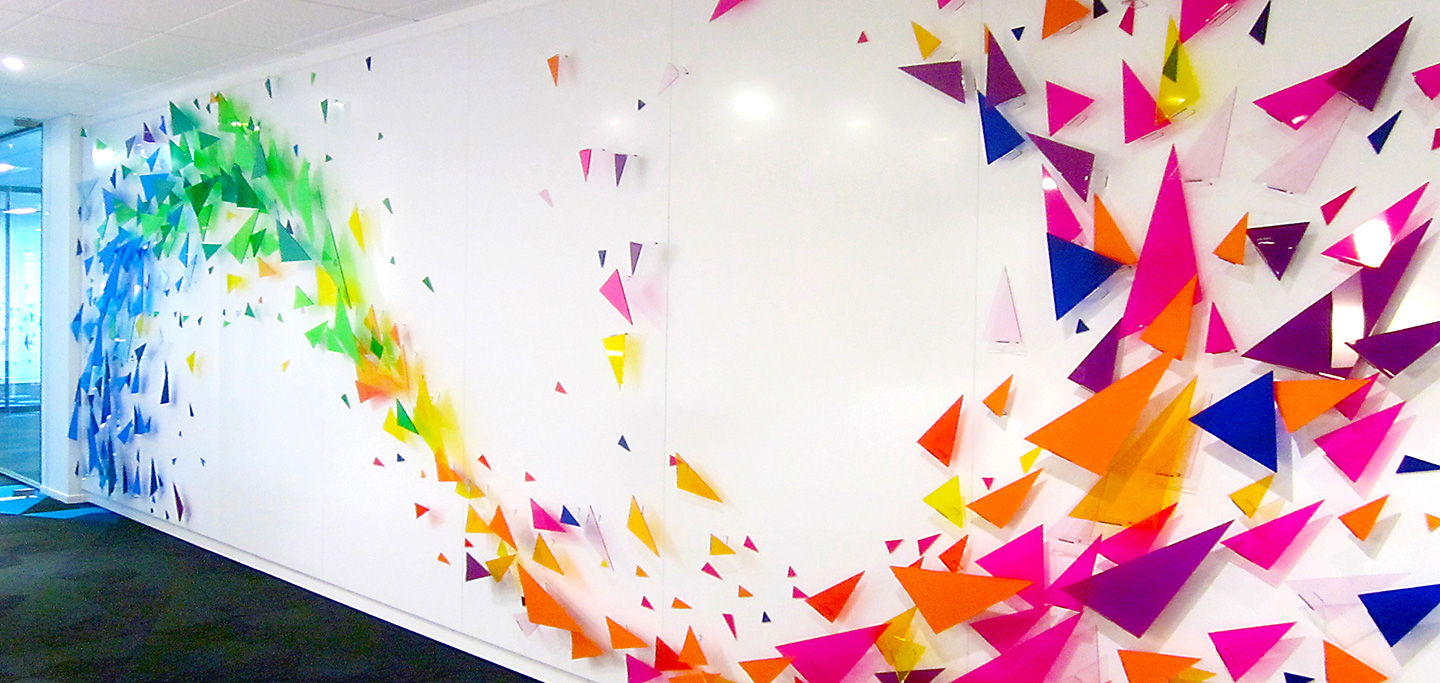 Lotto NZ Brand Wall Completion