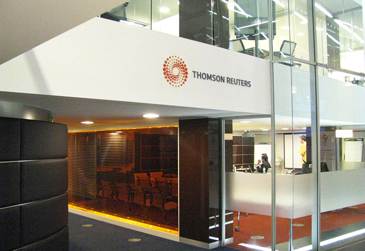 Thomson Reuters Internal Signage