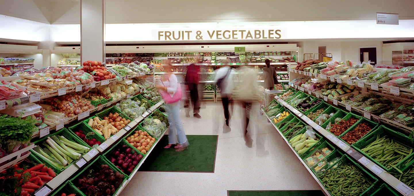 Waitrose Fruit and Vegetable Signage