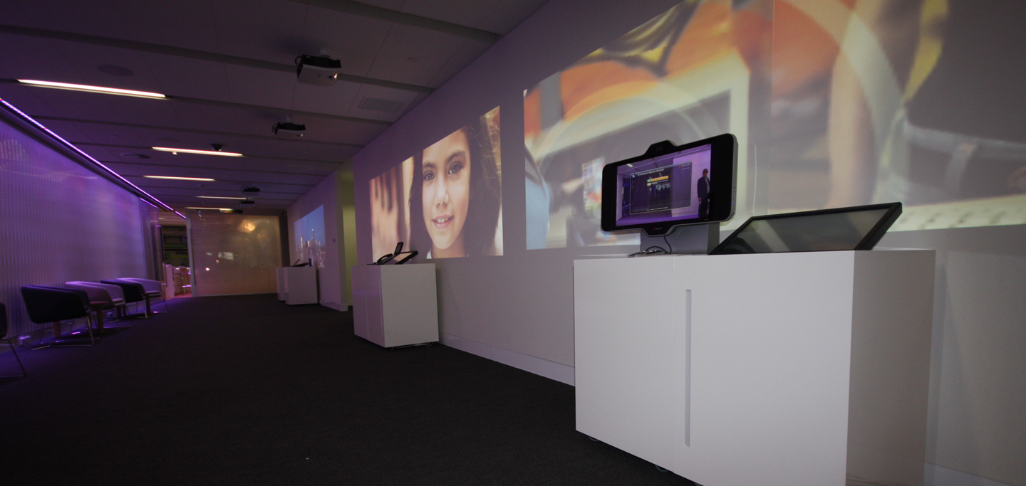 Telstra Digital Projection
