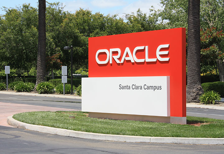 Oracle Monument Sign