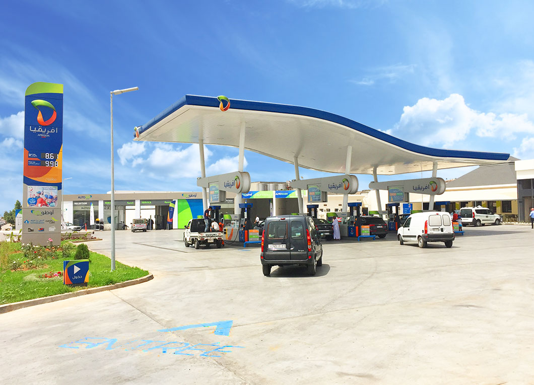 Nationwide Rebrand from the Ground Up For Afriquia, Morocco's Largest Fuel Retailer