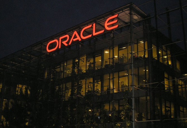 Oracle Skyline Night Illumination