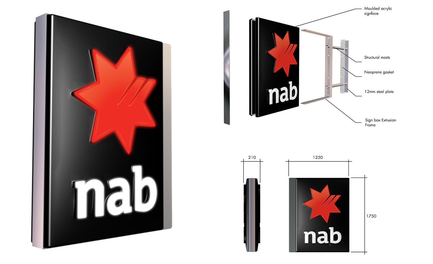 NAB Tavern Sign Renderings