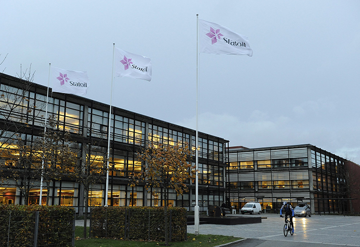 Statoil Site Flags