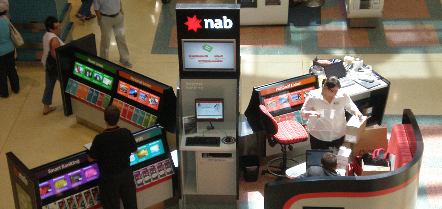 NAB Retail Kiosks