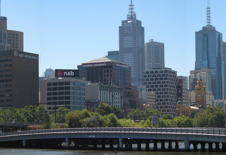 NAB Melbourne Sky Sign