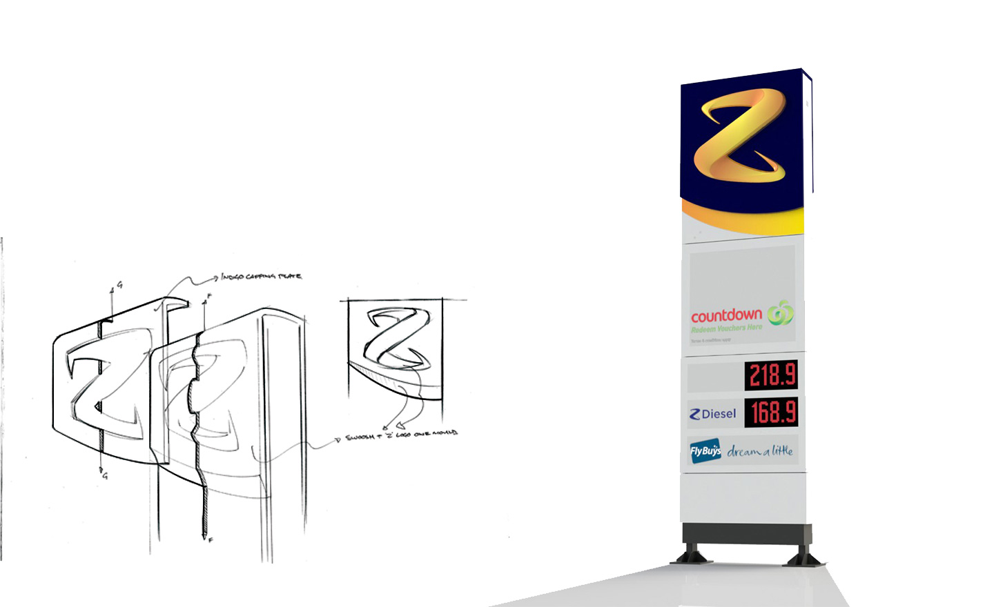Z Energy Product Design