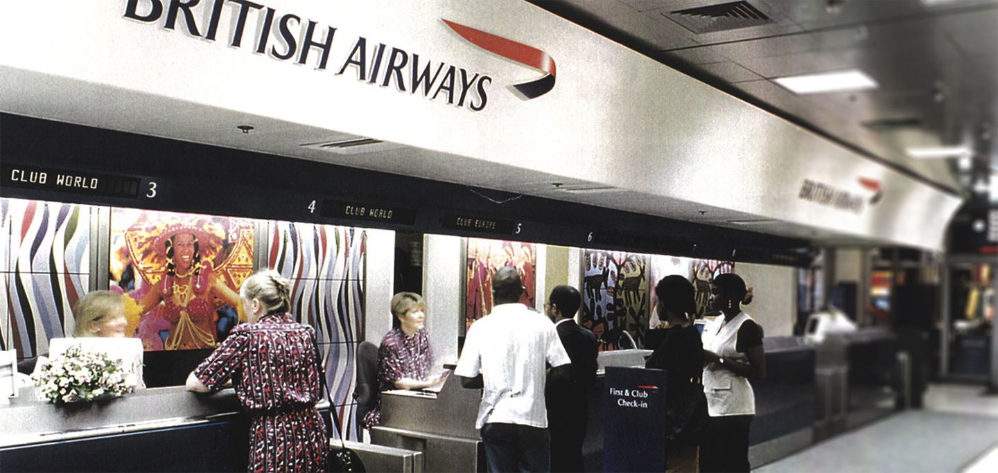 British Airways Check In Desk
