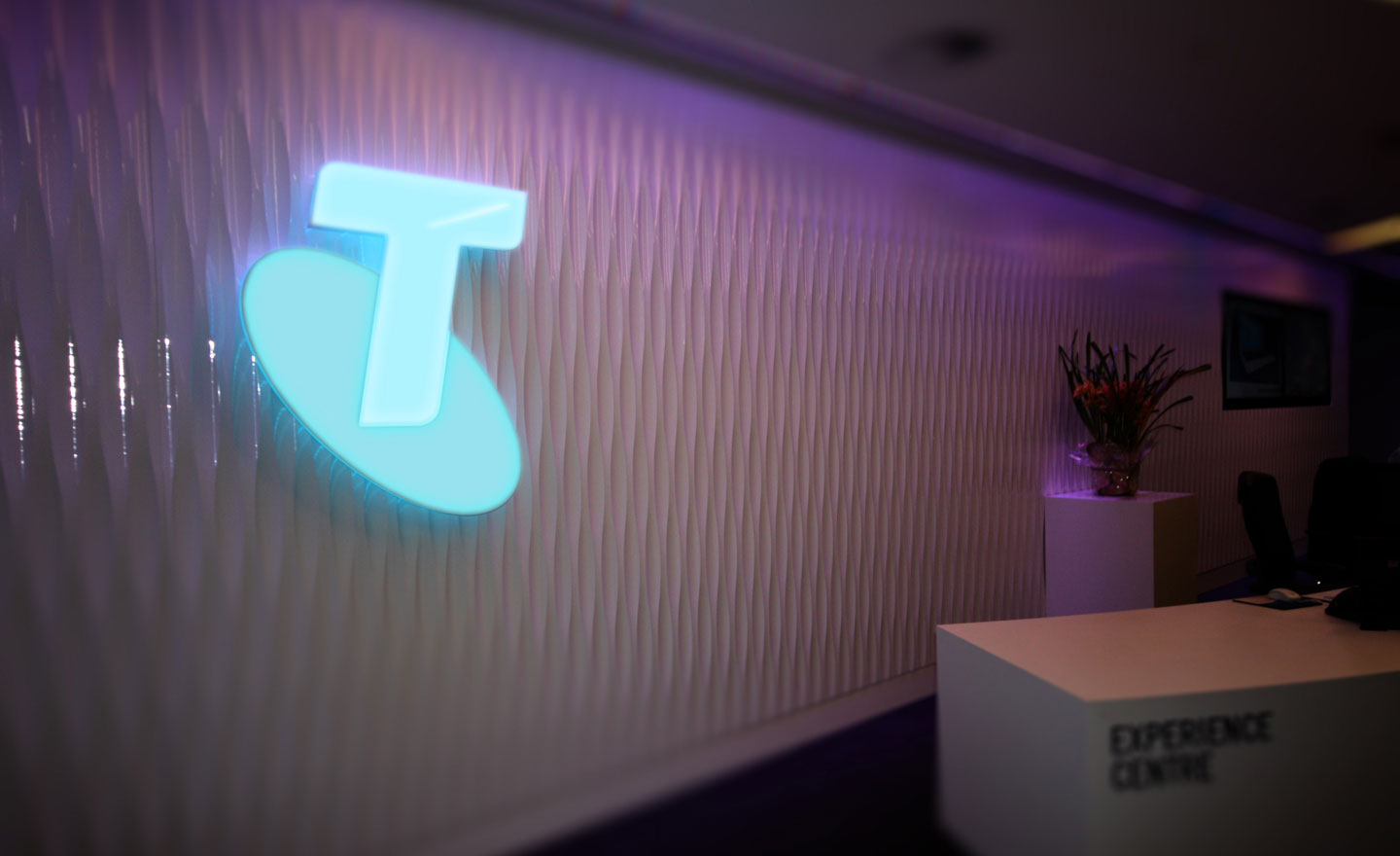 Telstra Reception Area